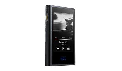 FiiO M9 High Res Lossless (DSD/FLAC/WAV/MP3) Digital Audio Player & DAC - Black