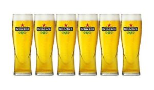 Heineken Bierglas / Glas Set – 6x 0,15l