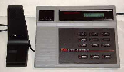 Ida 24-66m Programmable Remote Base Controller W617 620 Options - Tone Remote