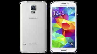 NEW Samsung Galaxy S5 SM-G900A - 16GB Unlock  Shimmery White (AT&T) Smartphone  on Rummage