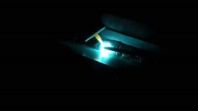 Mellow Blue Welding Lens. Custom Handmade Glass Lens. Shade Din 10. Aowc Similar