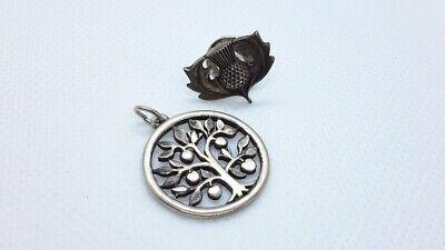 Retired James Avery Tree Of Life Charm Pendant. James Avery Acorn Pin