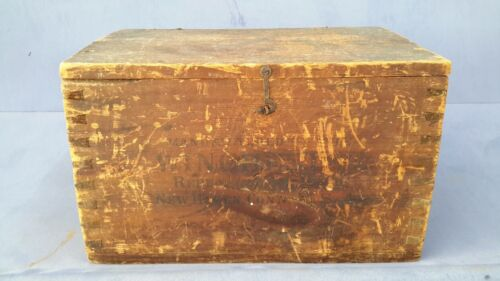 Winchester Wood  Shipping Crate Box