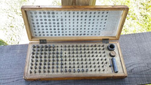 Dentistry Tooth Form Die Set Central Tool S.S. White Dental MFG. 1910.