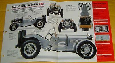 1930 Austin Seven 7 Inline 4 Cylinder 747cc Single Zenith Carb info/specs/photo