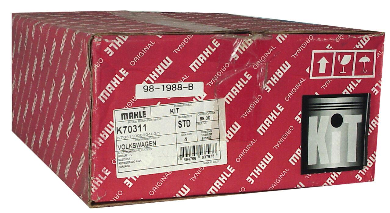 vw air cooled mahle cast piston  u0026 cyl  set  85 5mm  1500