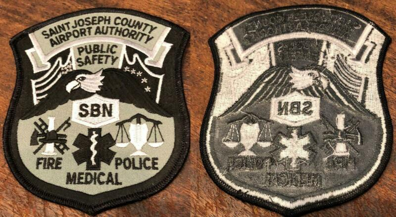 St Joseph County Airport Authority Police Ems Fire Patch  Free Shipping