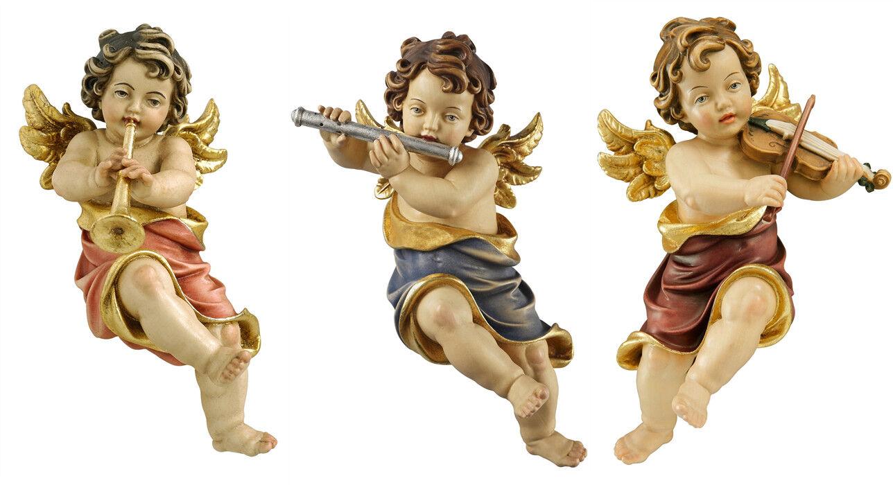 Putti 3 Angeli Suonatori Da Appendere In Wood