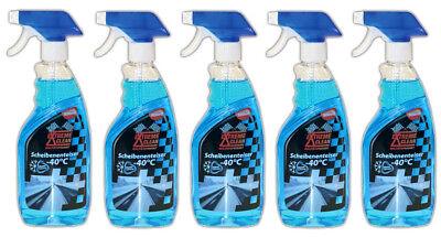 5x 500 ml Scheibenenteiser Spray | Auto KFZ Enteiserspray Scheiben Enteiser
