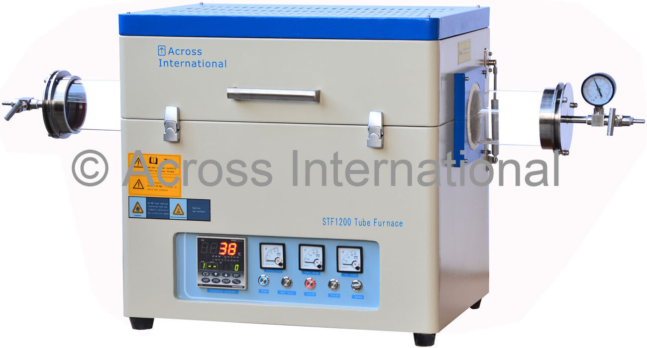1200c 60od Lab Horizontal Vacuum Tube Furnace Heater W Sealing Kit 15kw 30 80khz All Solid State Induction Heating Melting 1 Of 7