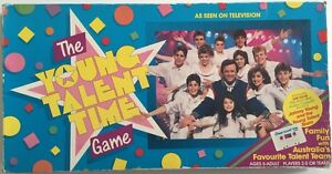 Vintage The Young Talent Time Aussie Board Game (1987) in GC St Albans Brimbank Area Preview