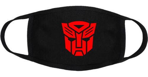 Transformer - Face Mask Cover Adult Youth Fashion 3 Layers Custom Made in US
