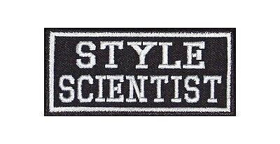 Style Scientist Biker Patches Aufnäher Swag Fashion Blogger Mode Look Show Trend
