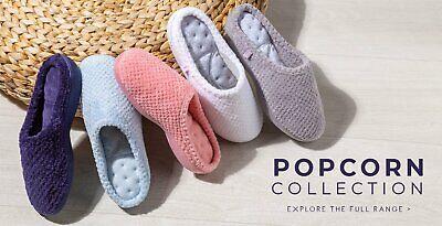 Ladies Slipper-Totes Isotoner-Popcorn Mule-95516