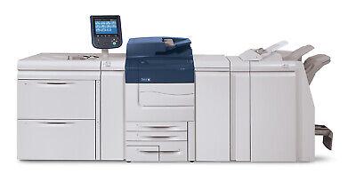Xerox Color C70 Digital Press Low Meter Production Printer Copier 75ppm 105k