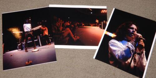 3x Rare JIM MORRISON Photo- Live 1968 Westbury NY Concert~The Doors