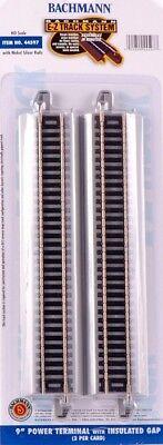 Bachmann HO Scale Train E-Z Track System Nickel Silver/Gray