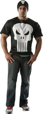 The Punisher Costumes (The Punisher t-shirt Adult Mens Halloween)