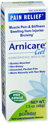 Boiron Arnicare Gel for Muscle Aches, 1.5-Ounce Tubes