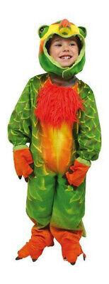 Kostüm Faschingskostüm Papagei Gr. 98 Kinderkostüm Fasching (Kinder Papagei Kostüme)