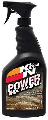K&N 99-0621EU Power Kleen Air Filter Cleaner - 32 Oz Trigger Sprayer