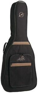 Seagull Embroidered Logo Guitar Gig Bag Black Dreadnought