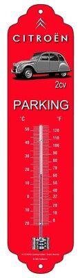 Thermomètre Citroën 2 CV Parking