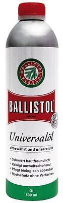 Ballistol® Universalöl 500ml Flasche, Pflegeöl, altbewährt, schützt und schmiert