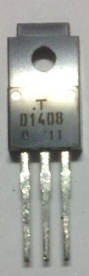 2SD1408 - (D1408) Toshiba Transistor  - (pack of 5)