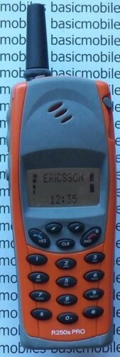 Ericsson R250 Pro Bright Orange DUMMY NON WORKING DISPLAY MODEL Mobile Phone