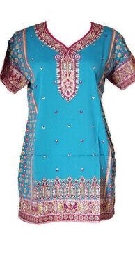 - Bollywood Indian Designer Kurta Kurti Women Ethnic Pakistani Dress Tunic E-1251