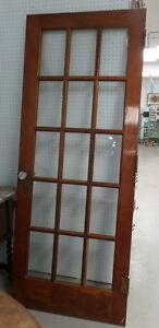 Vintage Fir Multi-Paned Door - Blue Jar Antique Mall