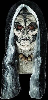 Voodoo Zombie Halloween Adult Size Tribal Creepy Witch Mask - Witch Masks