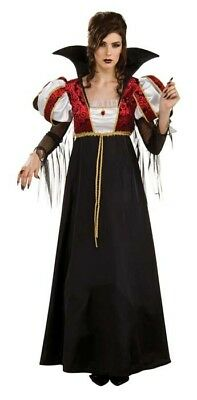ROYAL VAMPIRA Rubies Arisen Lust for Blood  Ladies Fancy Dress Costume STD size