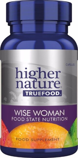 Higher Nature True Food Wise Woman<br>180 veg caps