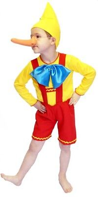 PINOCCHIO-PUPPET-AUSTRIAN BOY-World Book Day Complete Fancy Dress ALL AGES - Pinocchio Girl Costume