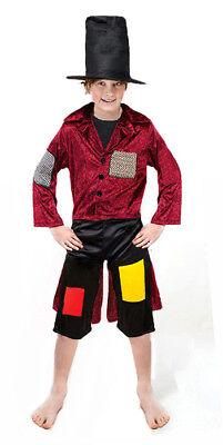 Kinder Oliver Twist Viktorianisches Kostüm Artful Dodger Bengel Wechsel Neu - Twister Kind Kostüm