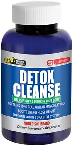 Super Detox Cleanse 1600mg Formula with African Mango Extract Colon