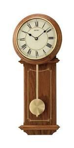 Seiko quartz pendulum clock wall clock with pendulum wood for Seiko quartz wall clock
