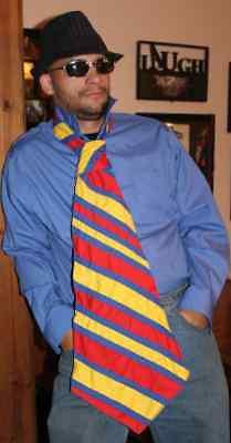 Professional clown tie  circus Ringling pro clown store
