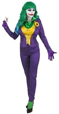 Mad Joker Damenkostüm NEU ()