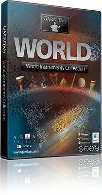 - NEW Garritan World Instruments Sample Library Ethnic Instrument WIN/MAC