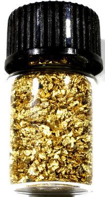 1 000 Grams Alaskan Yukon Bc Natural Pure Gold Nuggets Mesh  30 W Bottle   B300