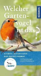 Welcher Gartenvogel ist das? von Volker Dierschke (Taschenbuch)  UNGELESEN