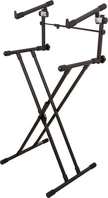 On-Stage Stands Deluxe X 2-Tier Keyboard Stand on Rummage