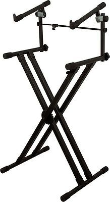 On-Stage Stands Heavy-Duty X 2-Tier Keyboard Stand on Rummage