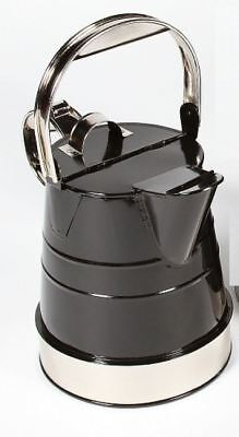 Stunning Black And Chrome 2 Gallon Classic Watering Can
