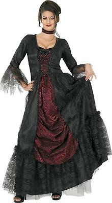 Countess of Transylvania Vampire Gothic Dress Up Halloween Deluxe Adult - Vampire Dress Up Kostüm