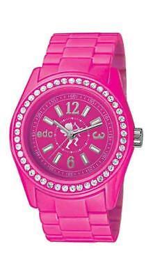 EDC by Esprit Disco Glam Glowing Pink EE900172009 Analog  Kunststoff Pink