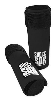 """Shock Sox 6"""" Fork Seal Protectors for Upside Down Forks Black"""
